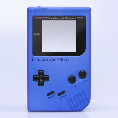 Game Boy Original IPS Shell Kit (Pearl Blue)