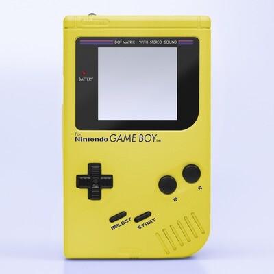 Game Boy Original IPS Shell Kit (Pearl Yellow)