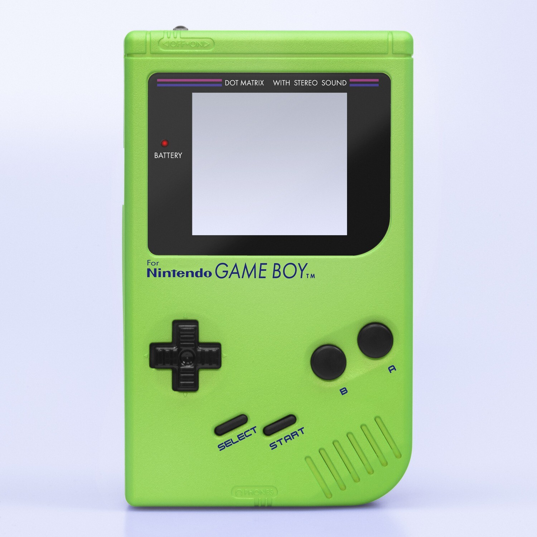 Game Boy Original IPS Shell Kit (Pearl Green)