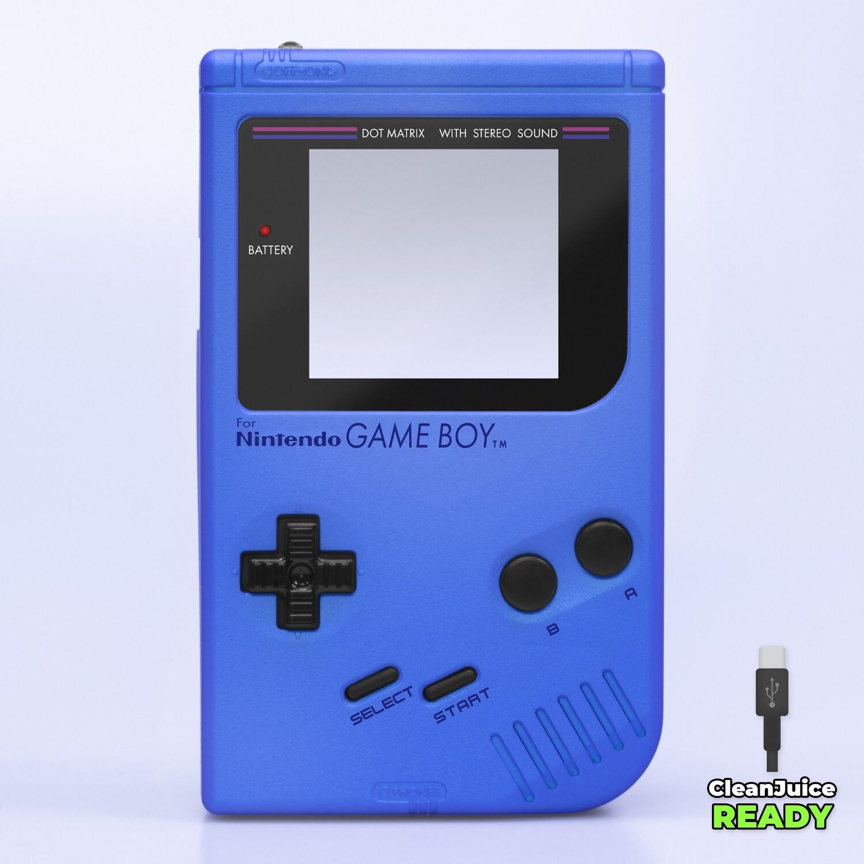 Game Boy Original IPS USB-C Shell Kit (Pearl Blue)