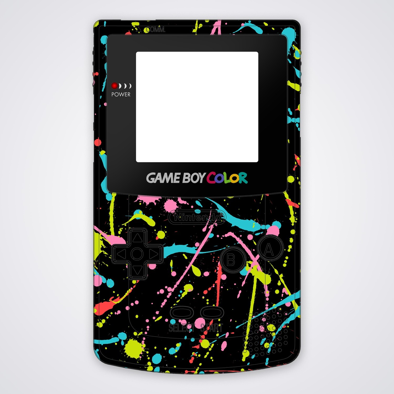 Game Boy Color Printed Shell (Splash)