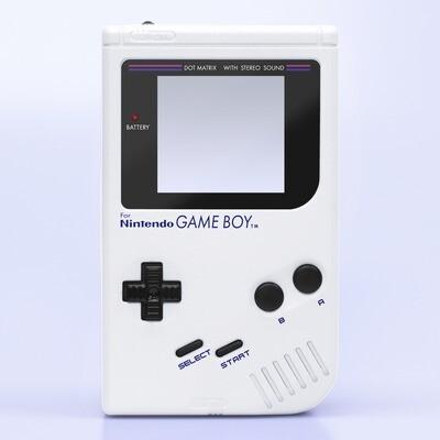 Game Boy Original IPS Shell Kit (Pearl White)