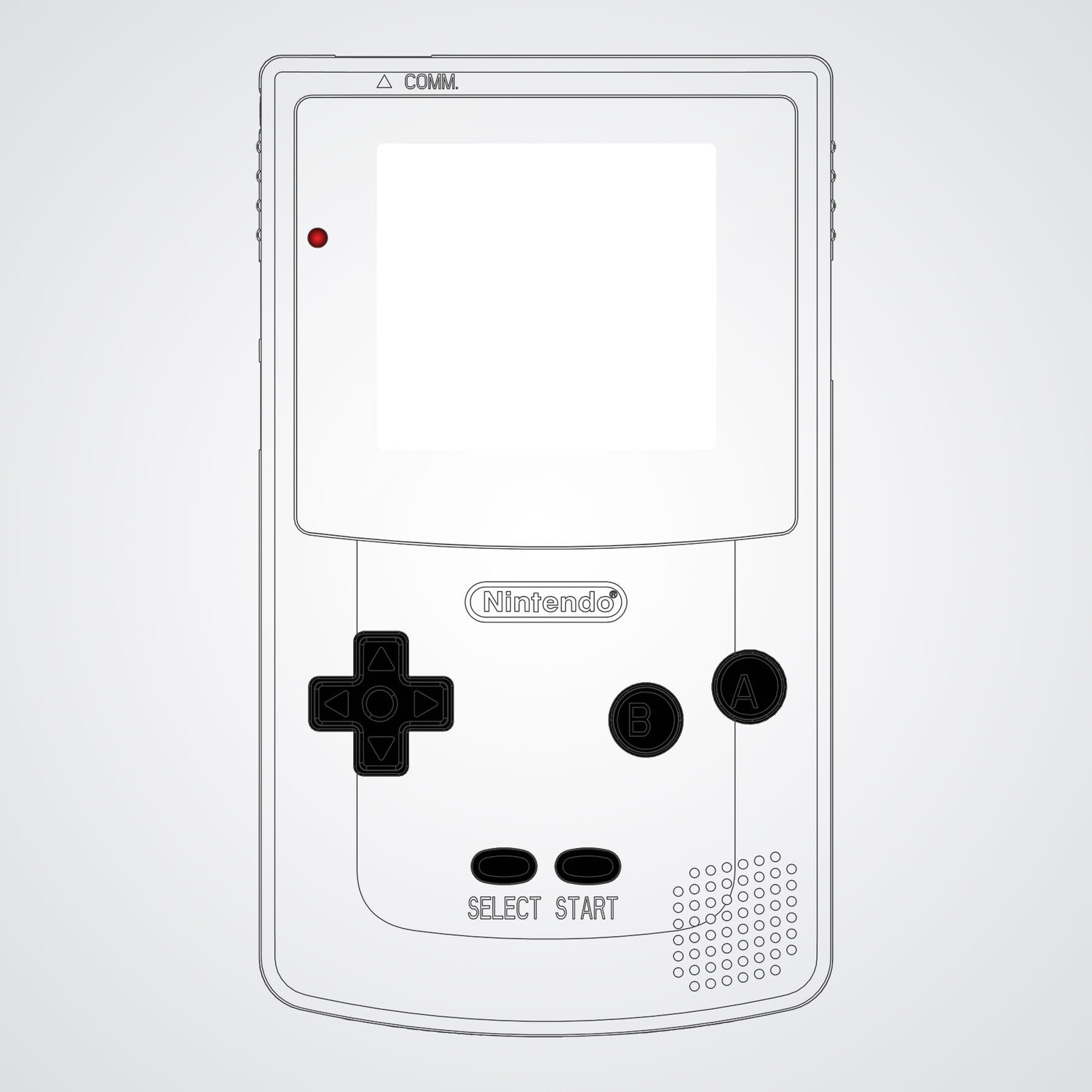 Game Boy Color Printed Shell Kit (Design Your Own)