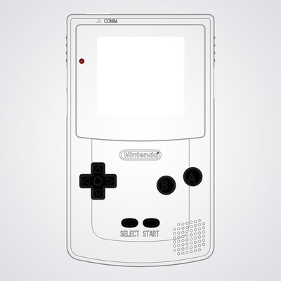 Game Boy Color UV Print Shell Kit (Design Your Own)