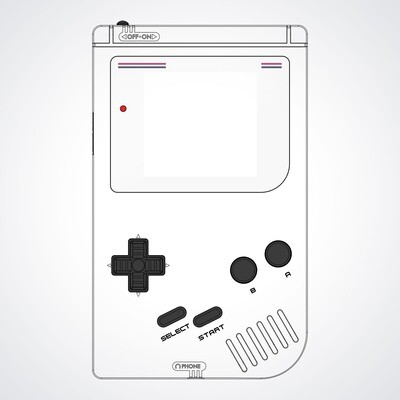 Game Boy Original Printed Shell (Design Your Own)