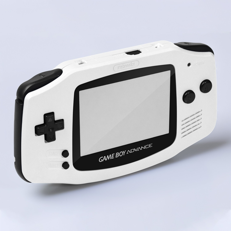 Game Boy Advance IPS Shell Kit (Pearl White)