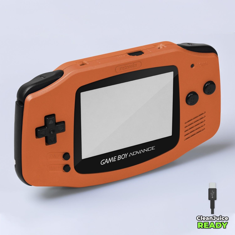 Game Boy Advance IPS USB-C Shell Kit (Pearl Orange)