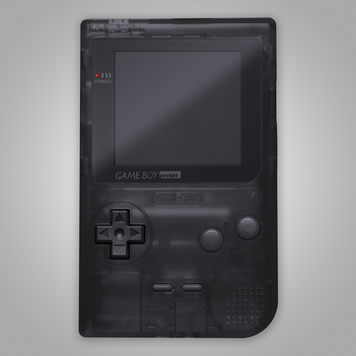 Game Boy Pocket Shell Kit (Clear Black)