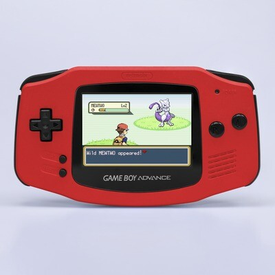Game Boy Advance: Prestige Edition (Pearl Red)