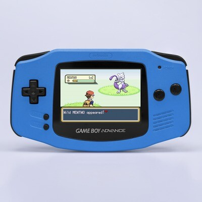 Game Boy Advance: Prestige Edition (Pearl Blue)