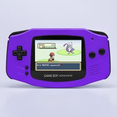 Game Boy Advance: Prestige Edition (Pearl Purple)