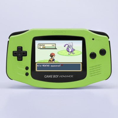 Game Boy Advance: Prestige Edition (Pearl Green)