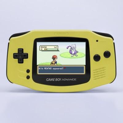 Game Boy Advance: Prestige Edition (Pearl Yellow)