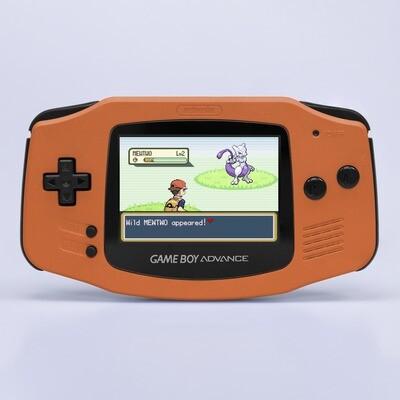 Game Boy Advance: Prestige Edition (Pearl Orange)