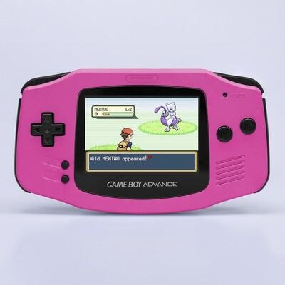 Game Boy Advance: Prestige Edition (Pearl Pink)