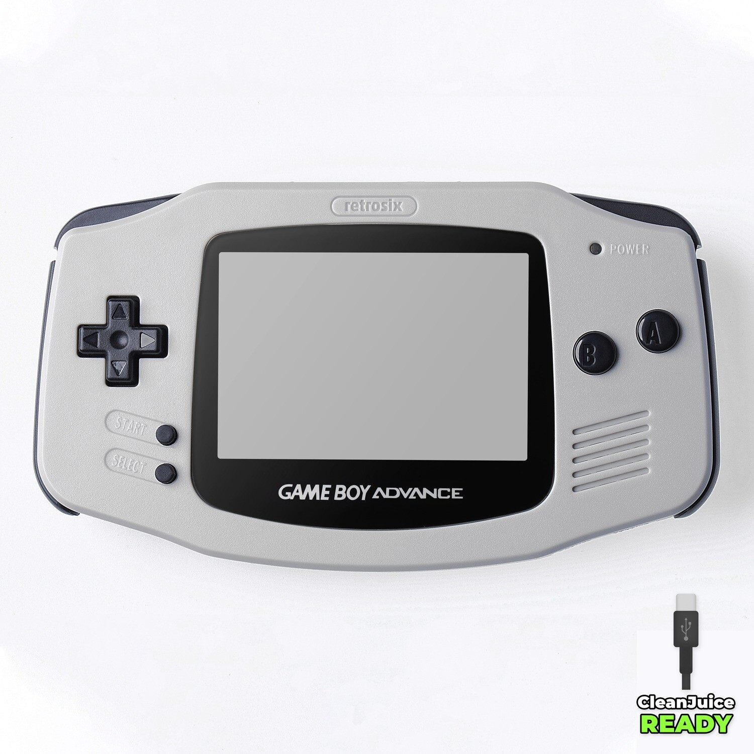 Game Boy Advance IPS USB-C Shell Kit (Grey)