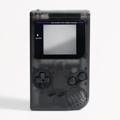 Game Boy Original IPS Shell Kit (Clear Black)