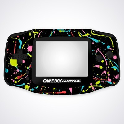 Game Boy Advance IPS UV Print Shell Kit (Splash)