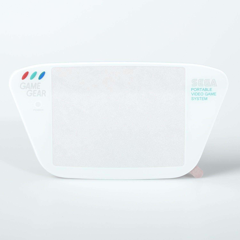 Game Gear Glass Lens (White)