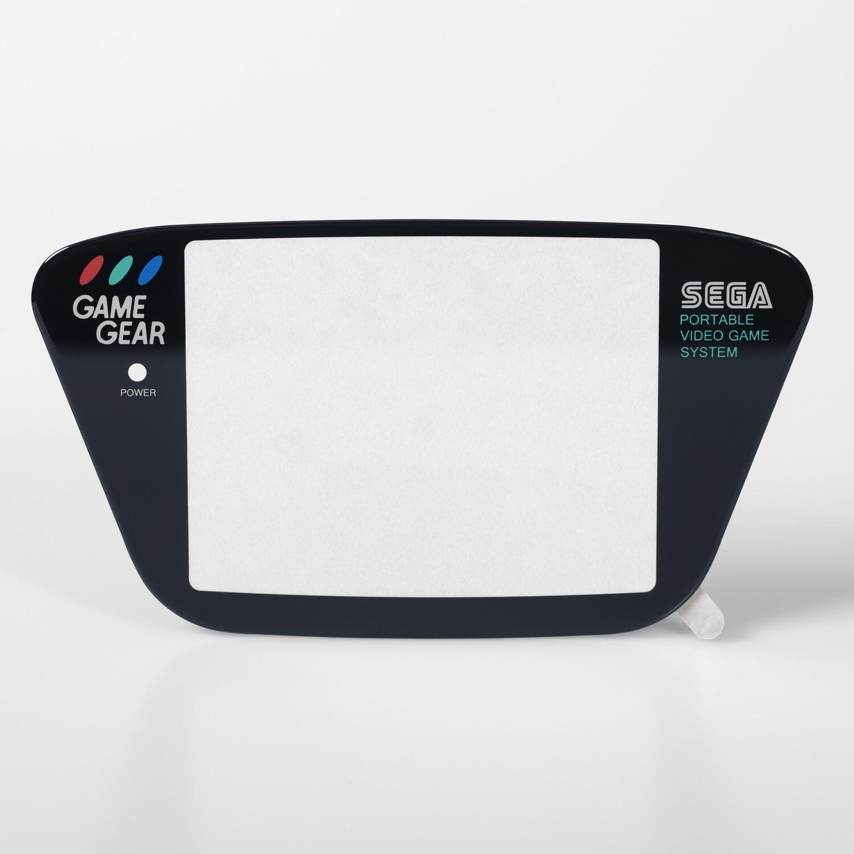 Game Gear Glass Lens (Black)