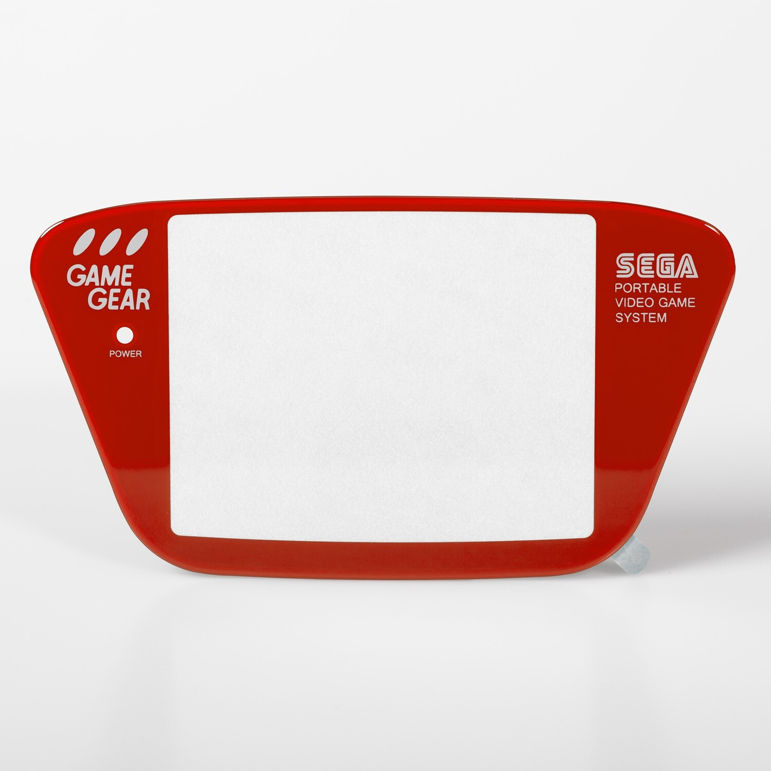 Game Gear Glass Lens (Red)