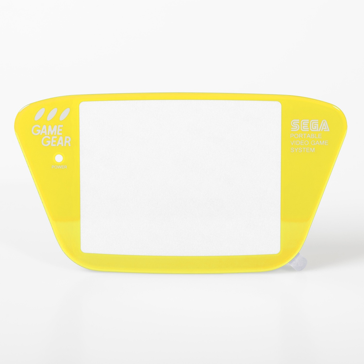 Game Gear Glass Lens (Yellow)