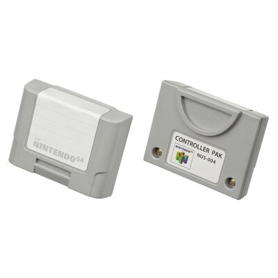 N64 Controller Memory Pak (NUS-004)