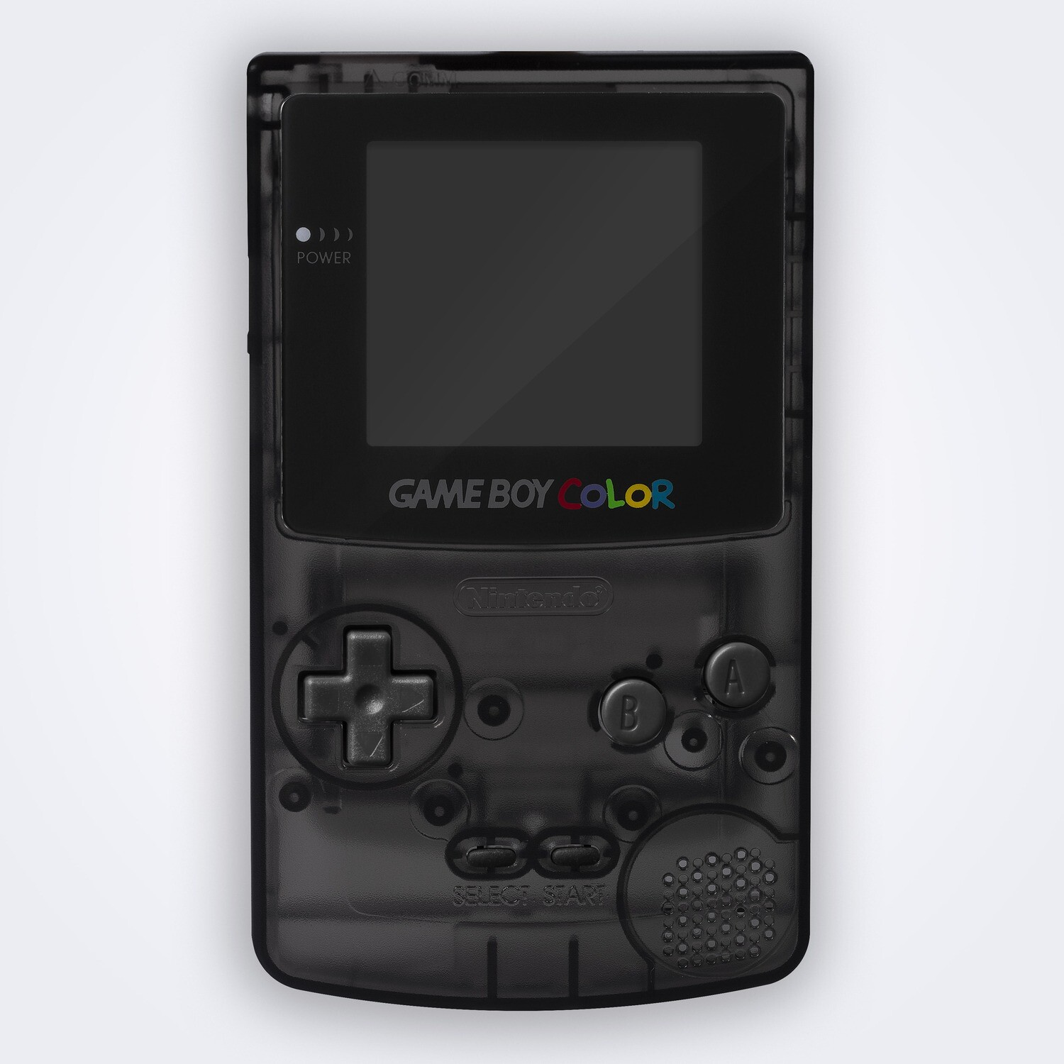 Game Boy Color Shell Kit (Clear Black)