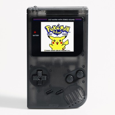 Game Boy Original: Prestige Edition (Clear Black)