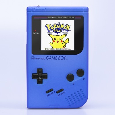 Game Boy Original: Prestige Edition (Pearl Blue)