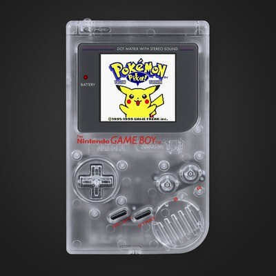 Game Boy Original: Prestige Edition (Clear)