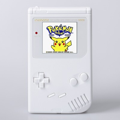 Game Boy Original: Prestige Edition (Pure White)