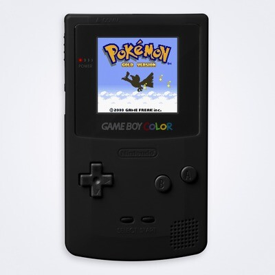 Game Boy Color: Prestige Edition (Black)