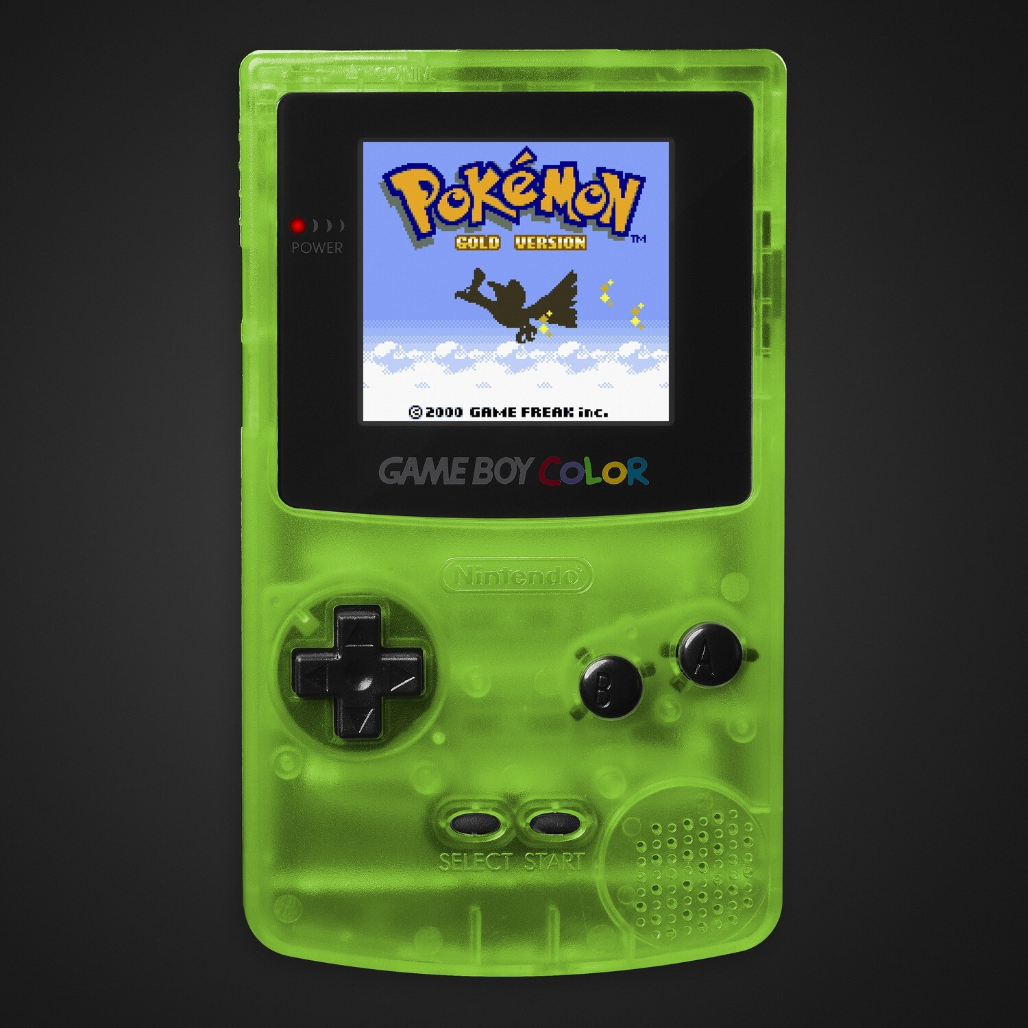 Game Boy Color: Prestige Edition (Clear Green)