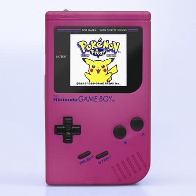 Game Boy Original: Prestige Edition (Pearl Pink)