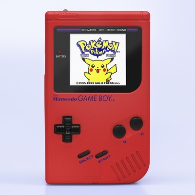 Game Boy Original: Prestige Edition (Pearl Red)