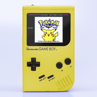 Game Boy Original: Prestige Edition (Pearl Yellow)