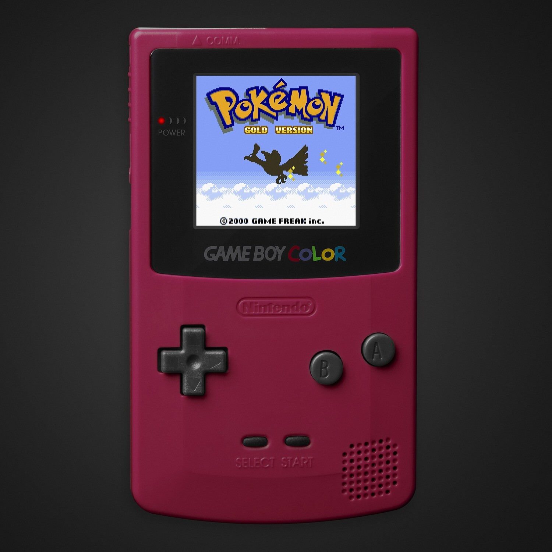 Game Boy Color: Prestige Edition (Crimson)