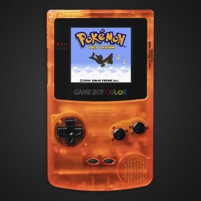 Game Boy Color: Prestige Edition (Clear Orange)