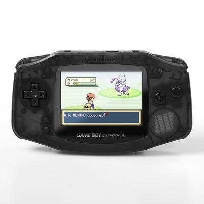 Game Boy Advance: Prestige Edition (Clear Black)