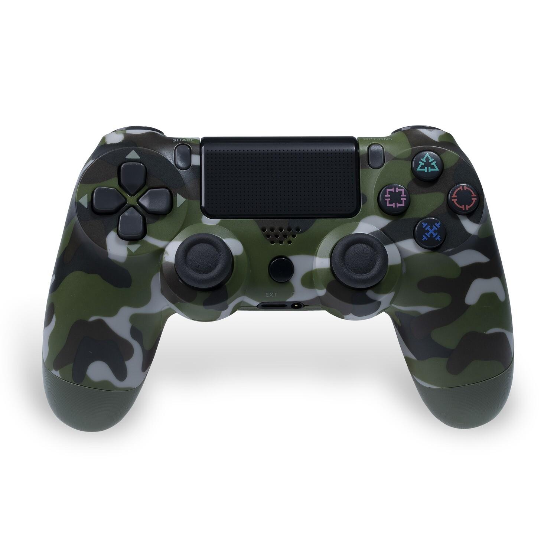 PS4 Wireless Controller (Camo Green)