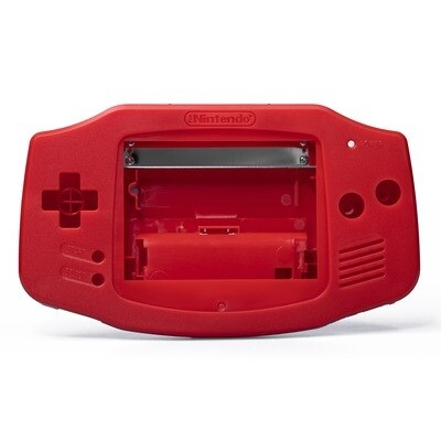 Game Boy Advance Shell Kit (Solid Red)