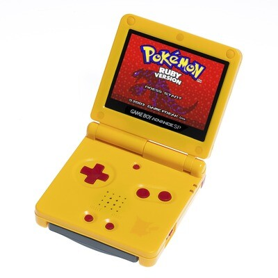Game Boy Advance SP: Prestige Edition (Pikachu Yellow)