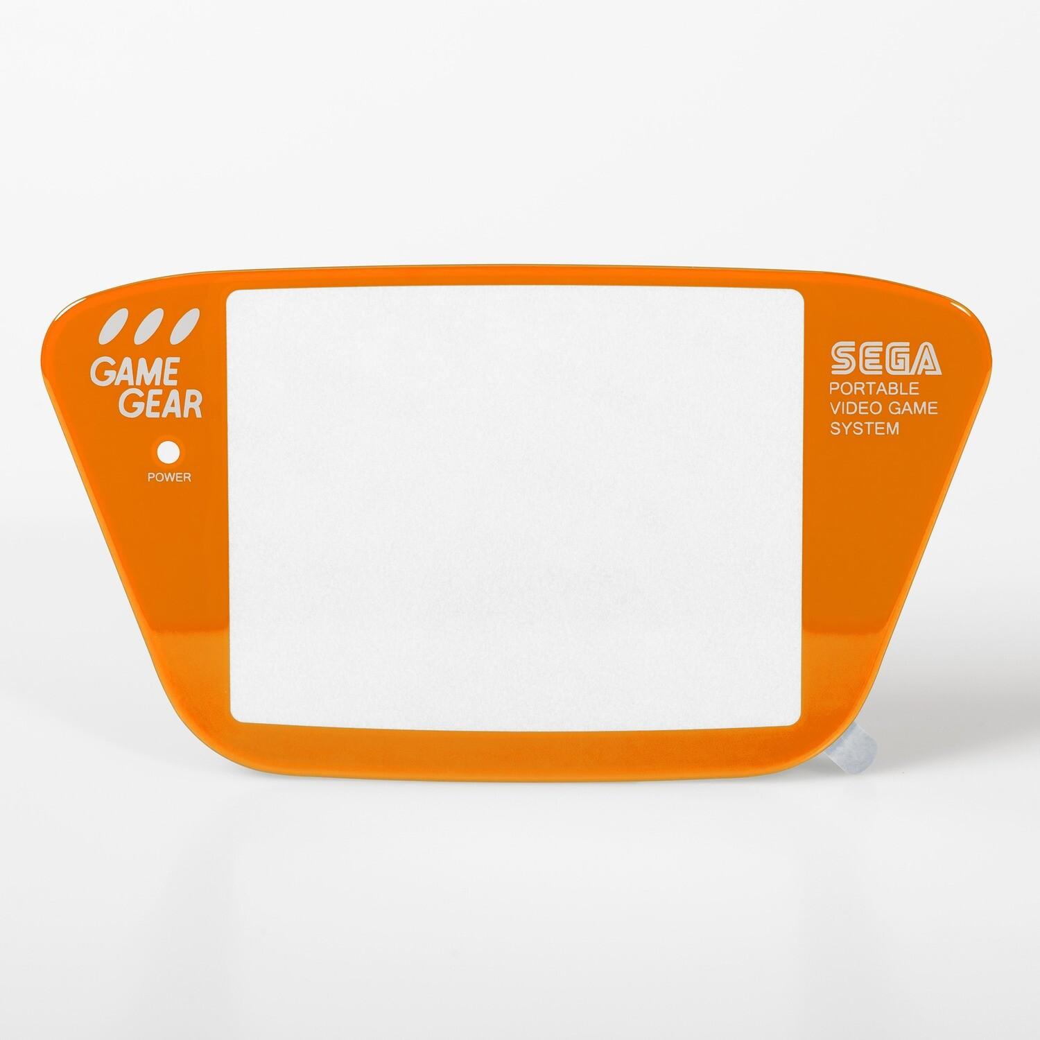 Game Gear Glass Lens (Orange)