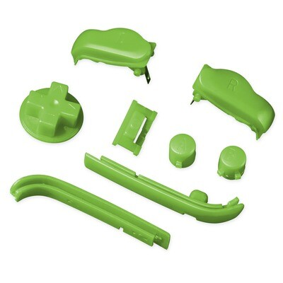 Game Boy Advance Buttons (Solid Green)