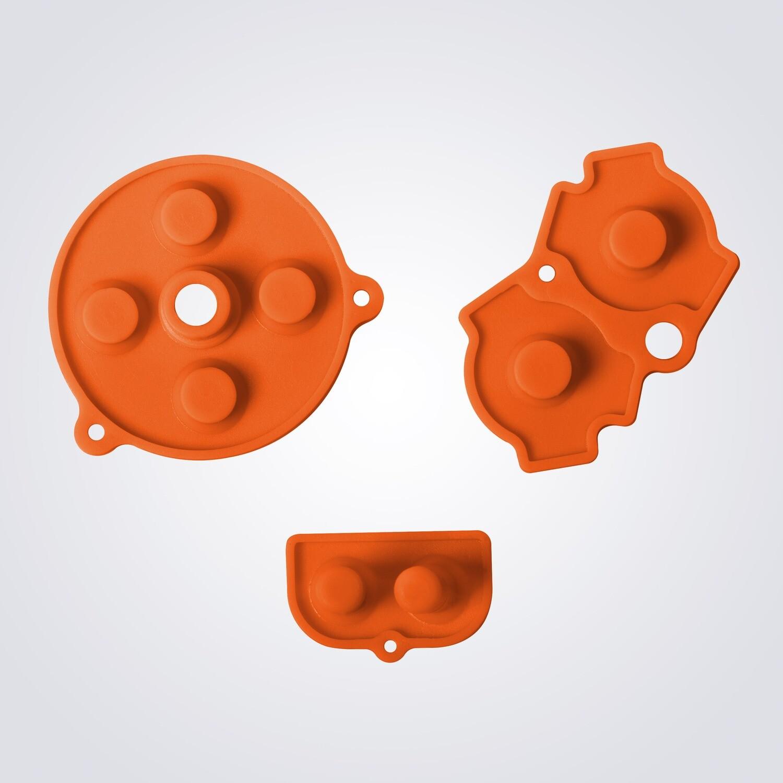 Game Boy Advance Rubber Pads (Orange)