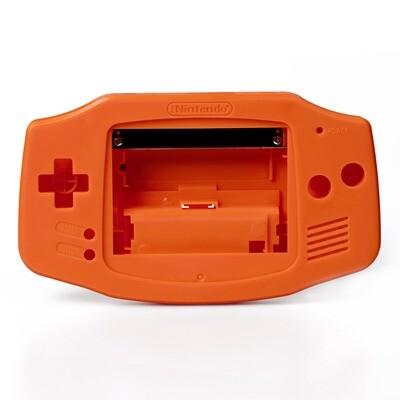 Game Boy Advance Shell Kit (Solid Orange)