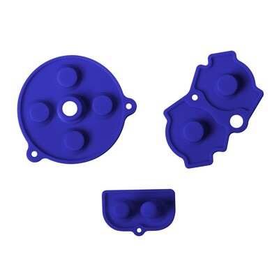 Game Boy Advance Rubber Pads (Blue)