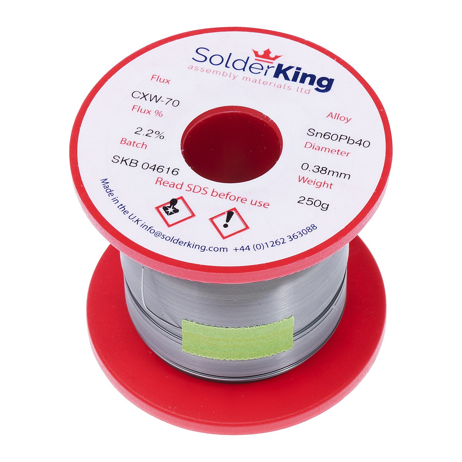 Solder Wire (0.38mm 60/40 Leaded)