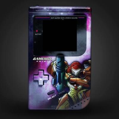 Game Boy Original UV Shell Kit (Metroid B)